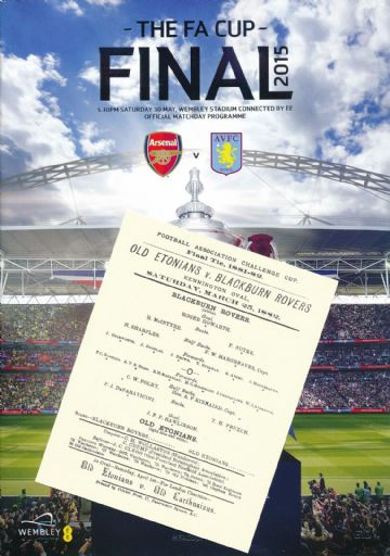2015 FA Cup Final Aston Villa v Arsenal with an EXCLUSIVE extra!